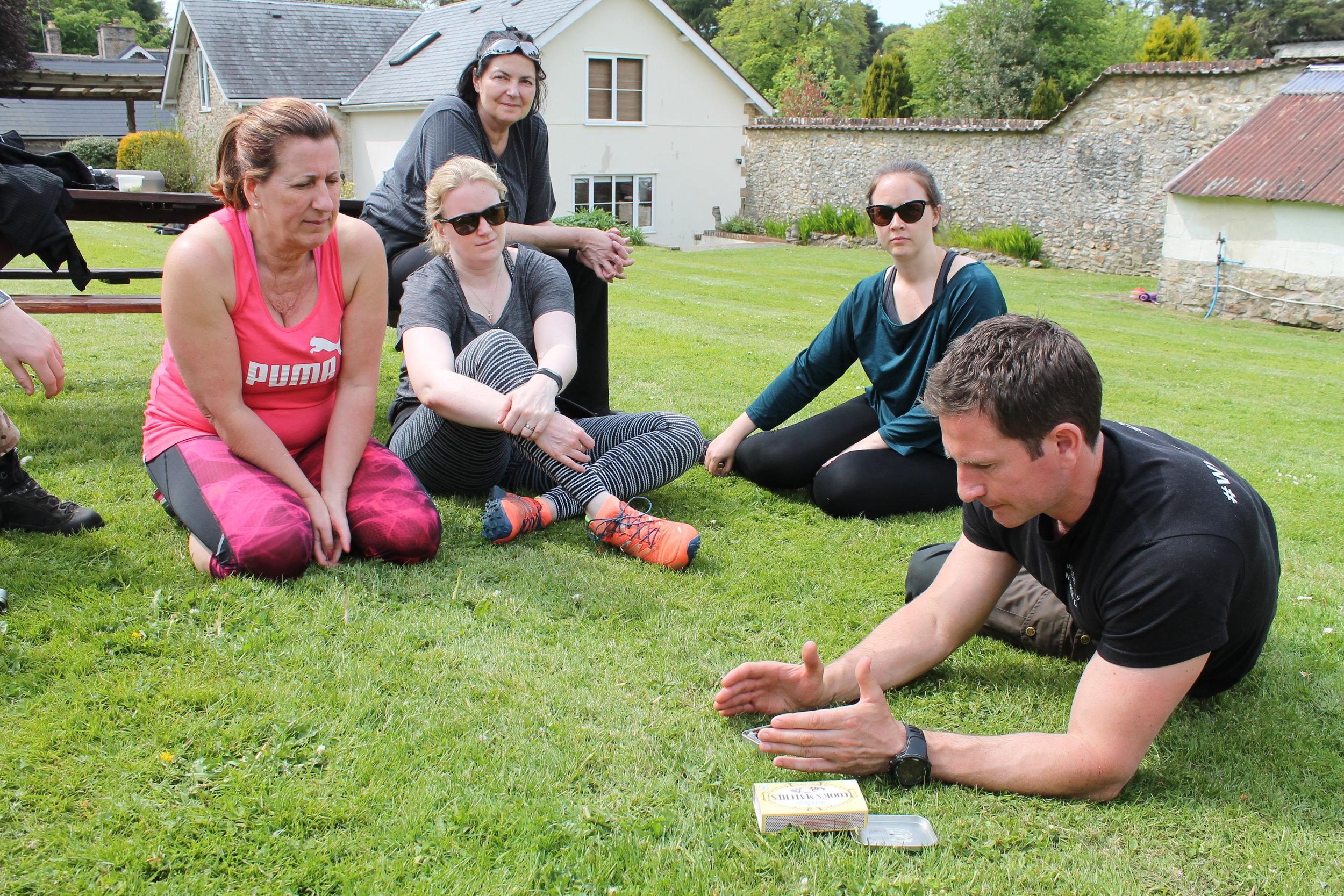 SAS instructors show you some survival skills