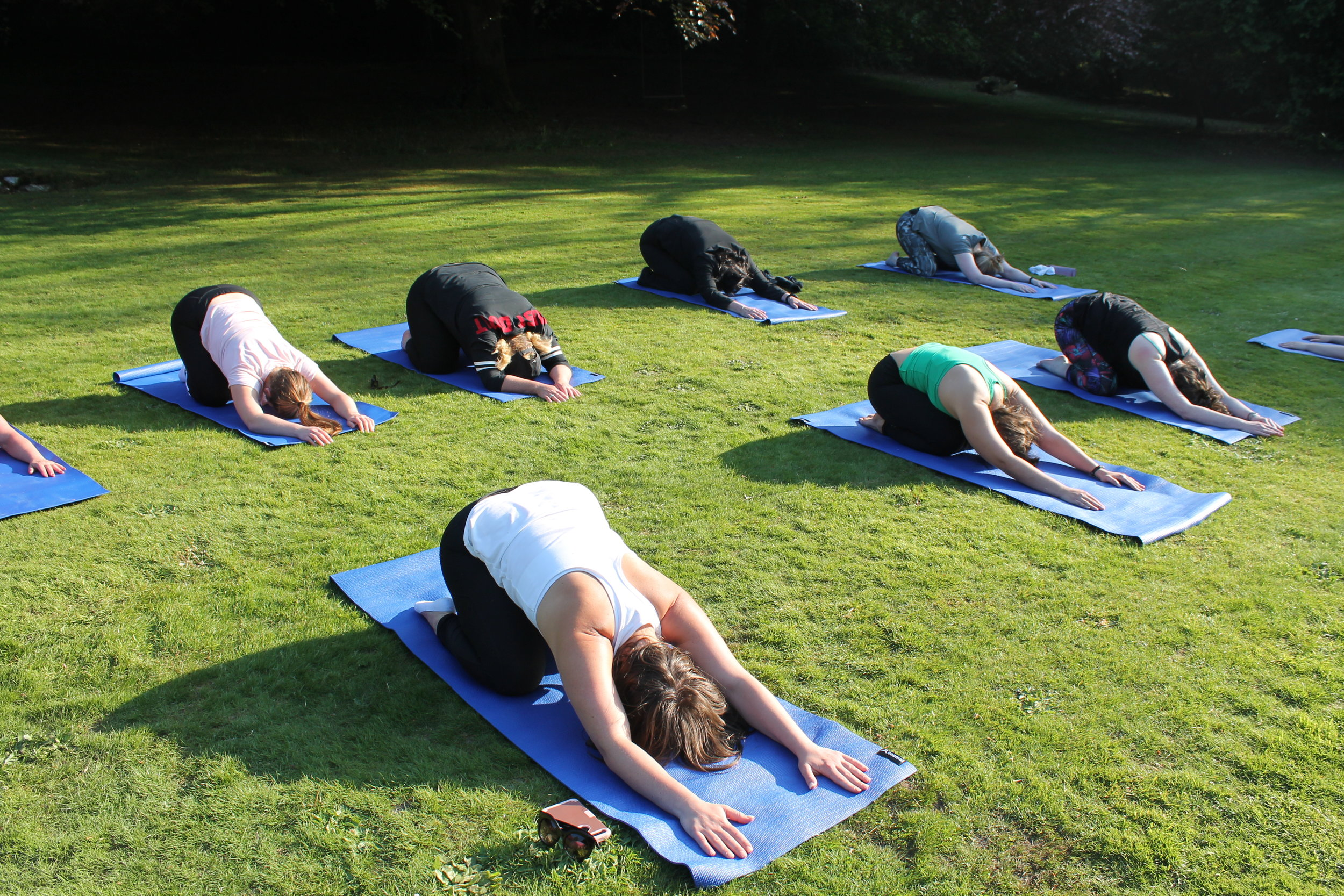 Yoga and pilates at Who Dares Slims in Scotland