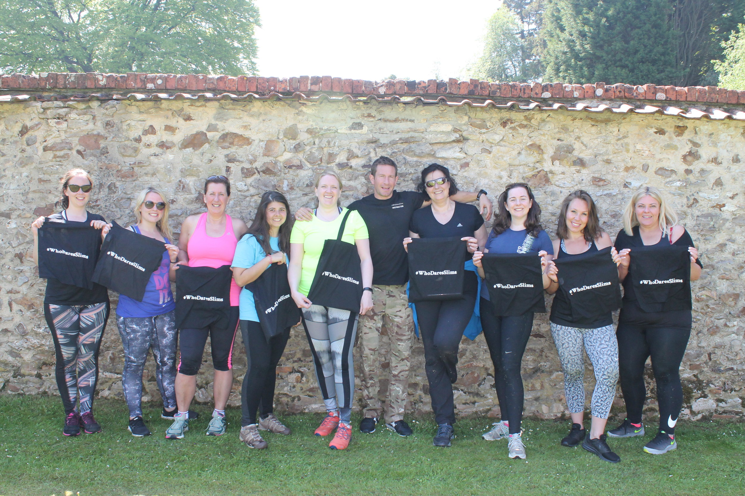 Weight loss boot camp in Scotland