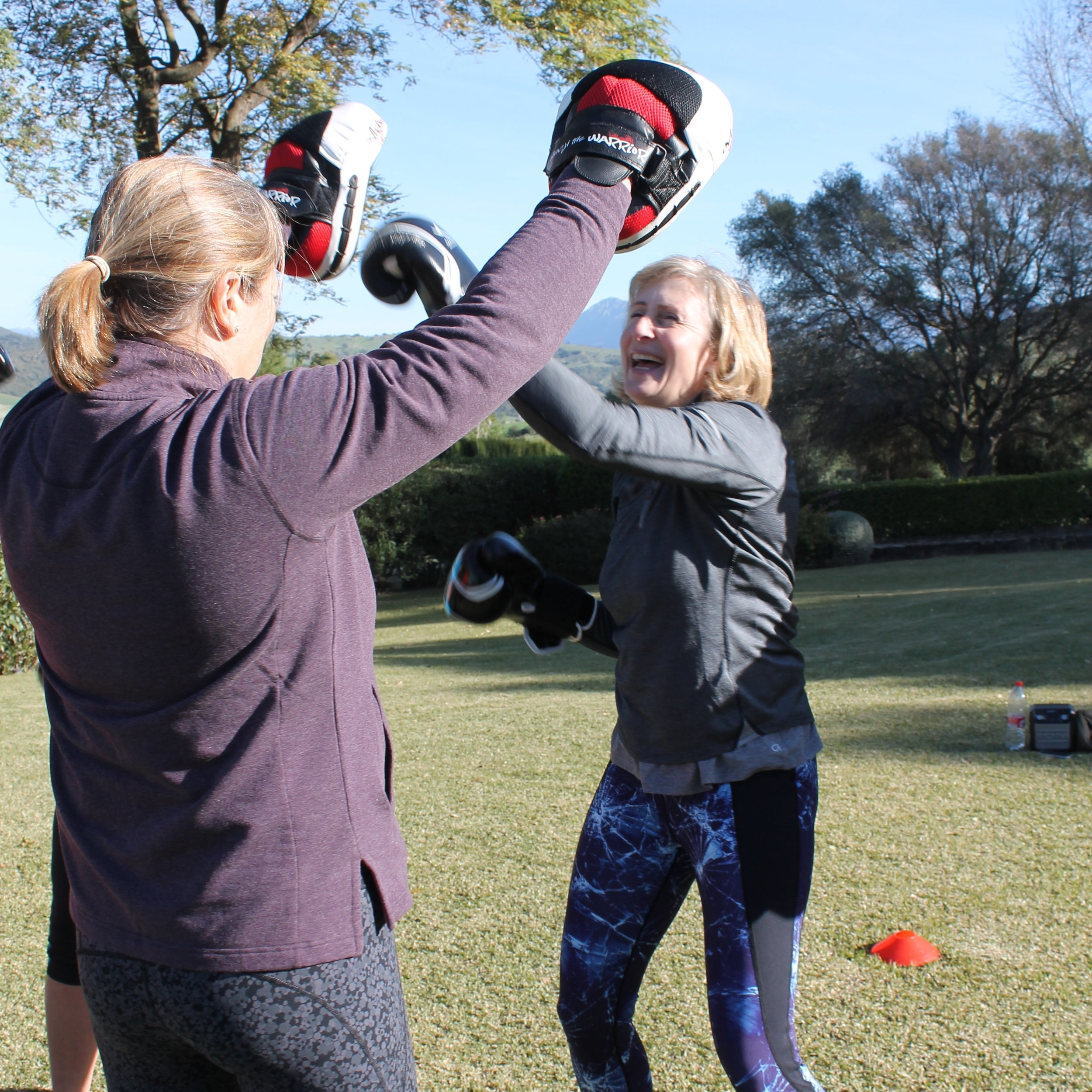 Fitness and weight loss boot camp