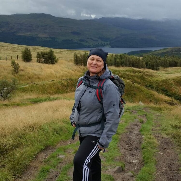 Katherine - Sports Masseuse   Katherine is a qualified sports masseuse (as well as a level 3 Personal Trainer). She's on hand at our Scottish boot camps, providing fantastic massages, as well as being another member of the safety team on our longer hikes.