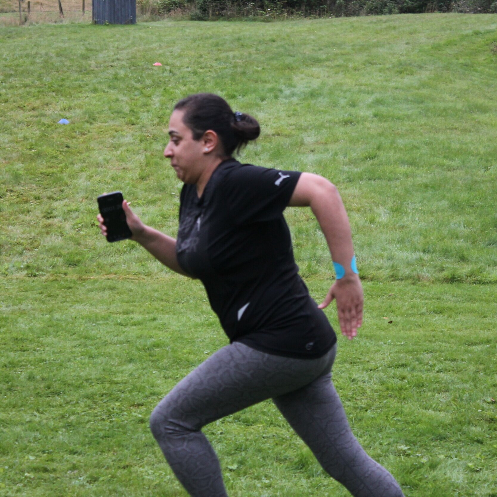 Uzma - Uzma found her competitive streak at boot camp - she threw herself into the sprints with glee! Her efforts paid off as she lost 3.6kg (8lbs) on the week boot camp in Scotland!