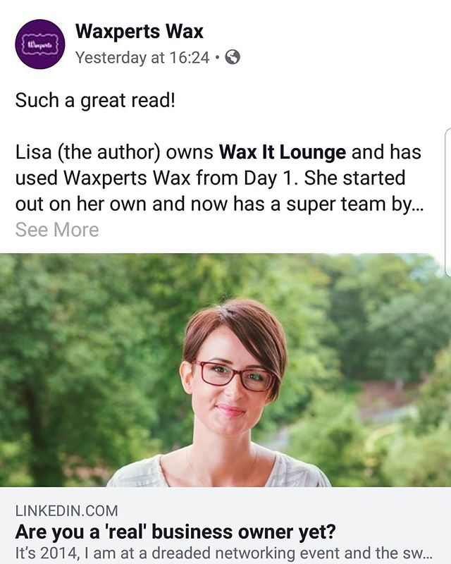As always. Not only our suppliers but our supporters too 💜 @waxpertswax. ⠀⠀⠀⠀⠀⠀ As our little business has grown and scaled over the years, their team has always been there encouraging and supporting along the way. Thank you so much girls, you're just a fantastic bunch altogether. Much love 💖 ⠀⠀⠀⠀⠀⠀ If you'd like to read Lisa's article, pop over to her page..link in her bio @lisajennifercollins ⠀⠀⠀⠀⠀⠀ #supportingbusinesses #womeninbusiness #grateful #greystones #waxpertswax #waxitlounge #growing #positivity #love