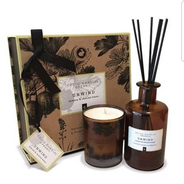 "Four fabulous scents 🌷 - organic luxury candles, one lavender pillow mist, two beautiful body oils and 4 smashing diffusers 😍 ⠀⠀⠀⠀⠀⠀ These are flying out the door! Placing new order tomorrow. 'Mimosa & Charred Lemon"" out of stock. Will be in by end next week ❤  #organicluxury #candles #celticcandles #newrange #highend #allthesmells🤩 #waxitlounge #love"