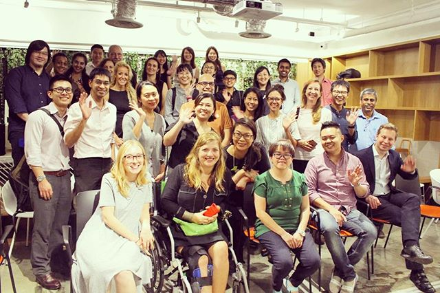 Throwback to our 12 April Symposium. Signing off with all smiles from the attendees who stayed back for a groupie. . Many thanks to our venue partner @cocre8_singapore for their support. . Psychoanalytic Association of Singapore (PAS) @psychoanalysis.sg http://psychoanalysis.sg