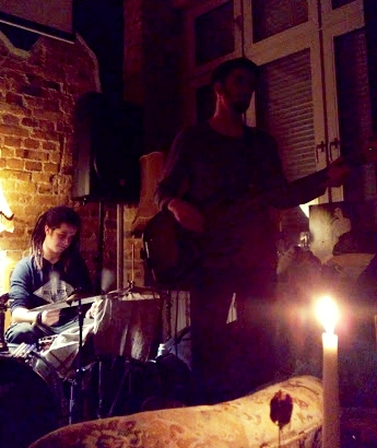 Per Monstad on bass and Gabriele Garbin on drums