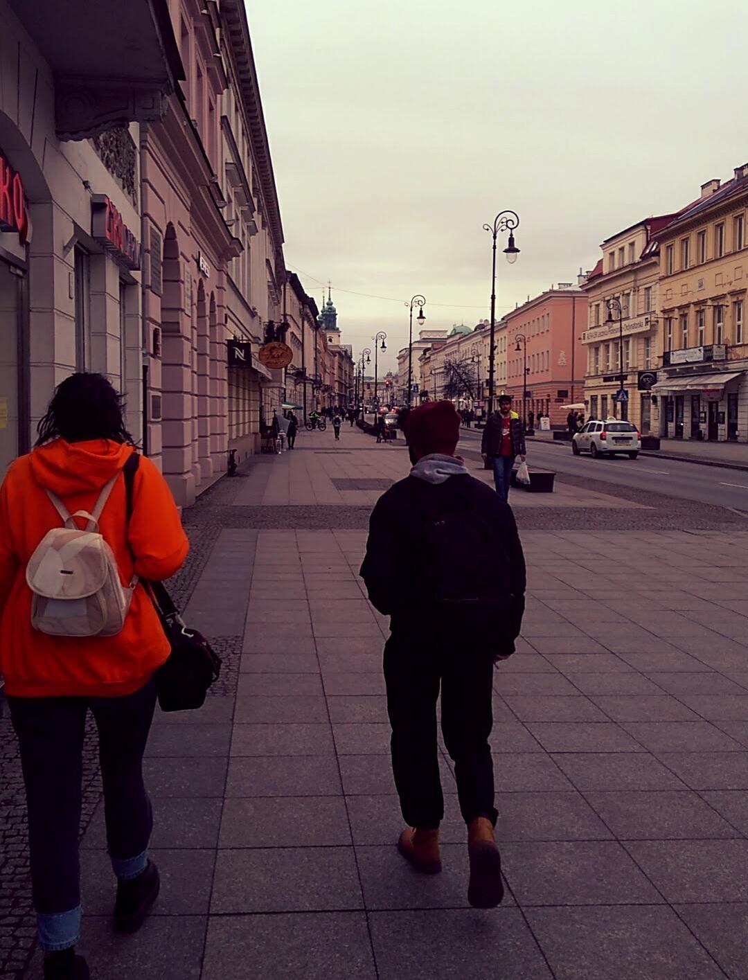 Wandering through Warsaw...