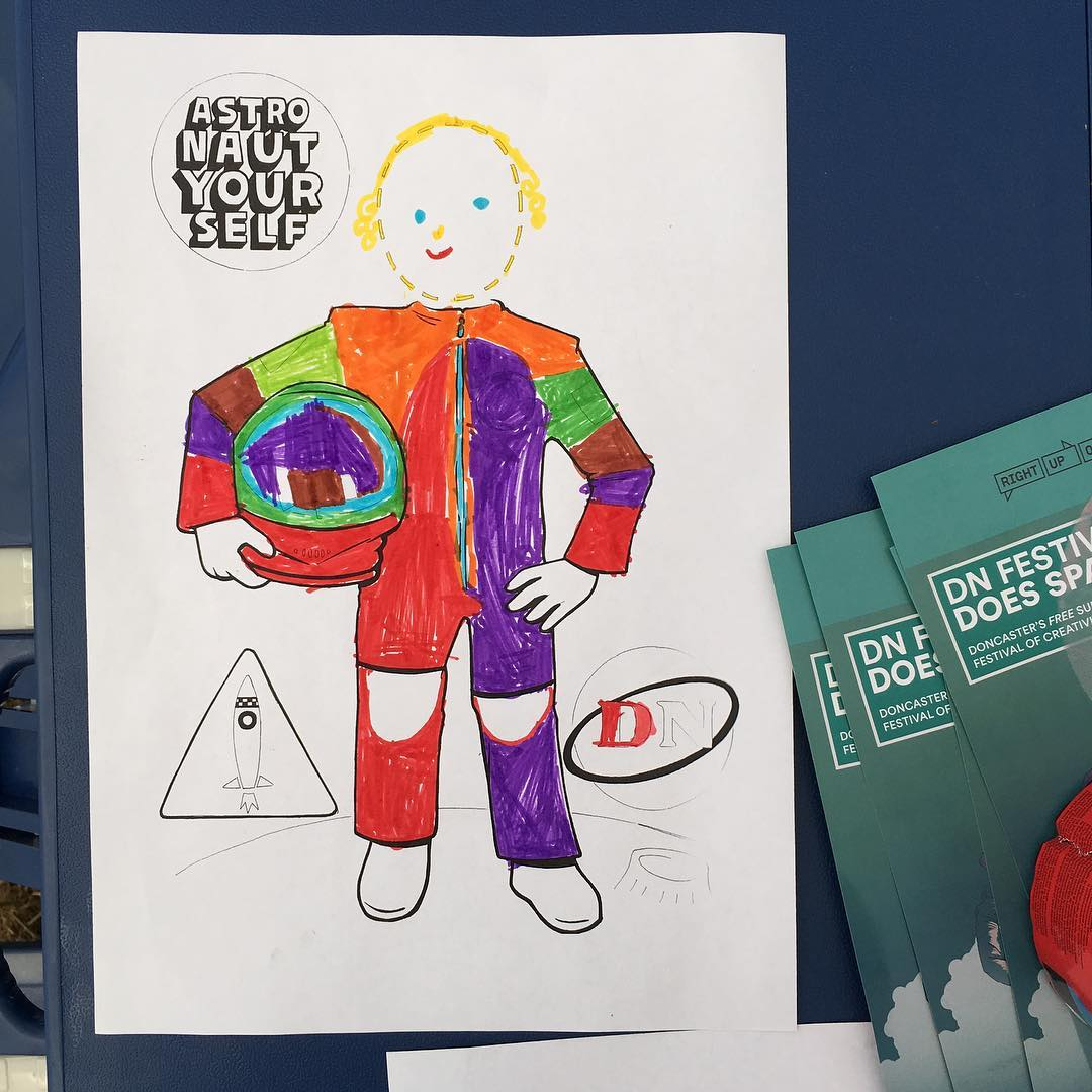 'Astronaut Yourself' Workshops