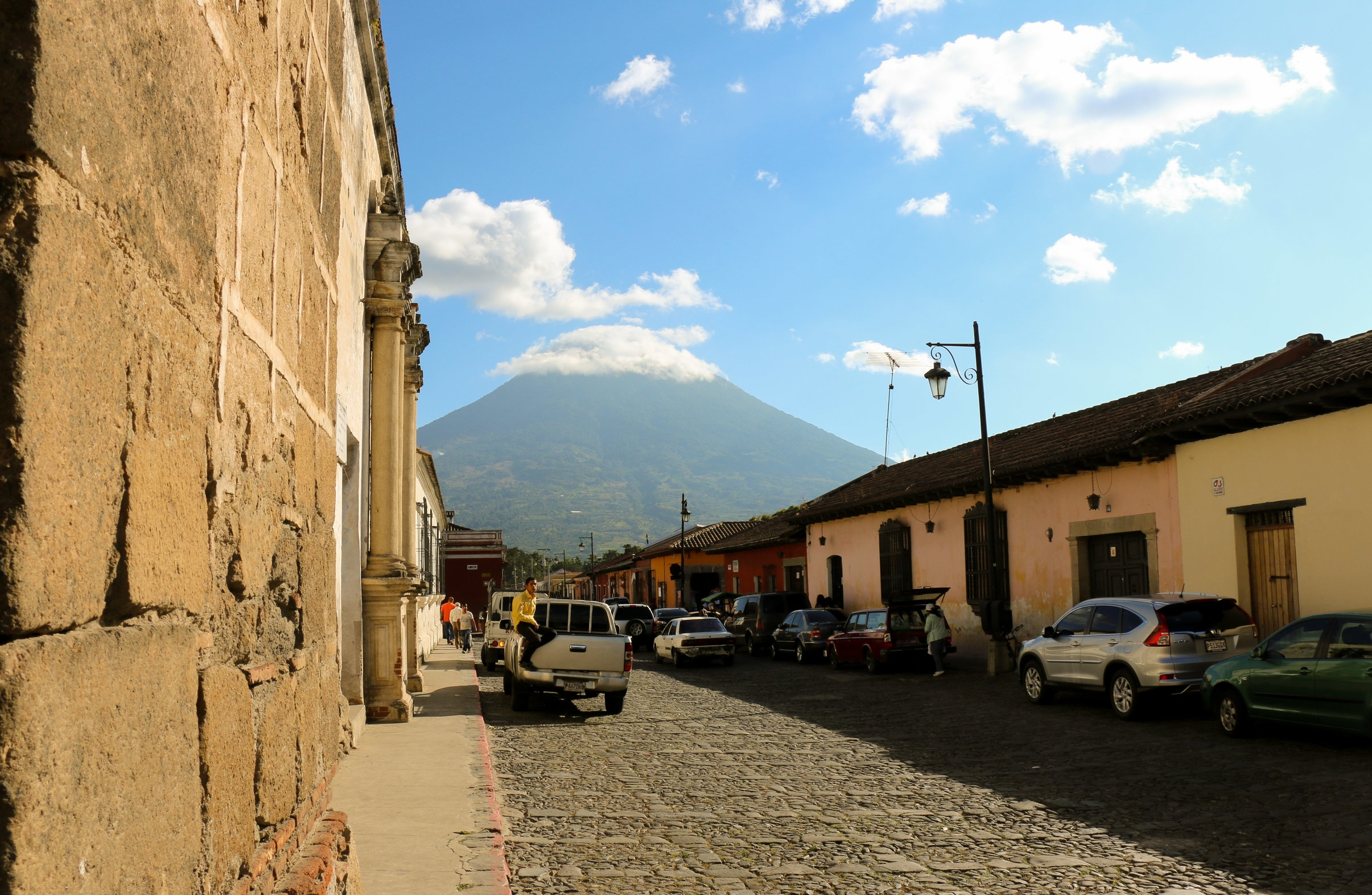 Antigua, our first stop on the Guatemalan Keipi Journey.
