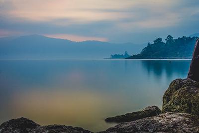 Lake Atitlan in the early morning