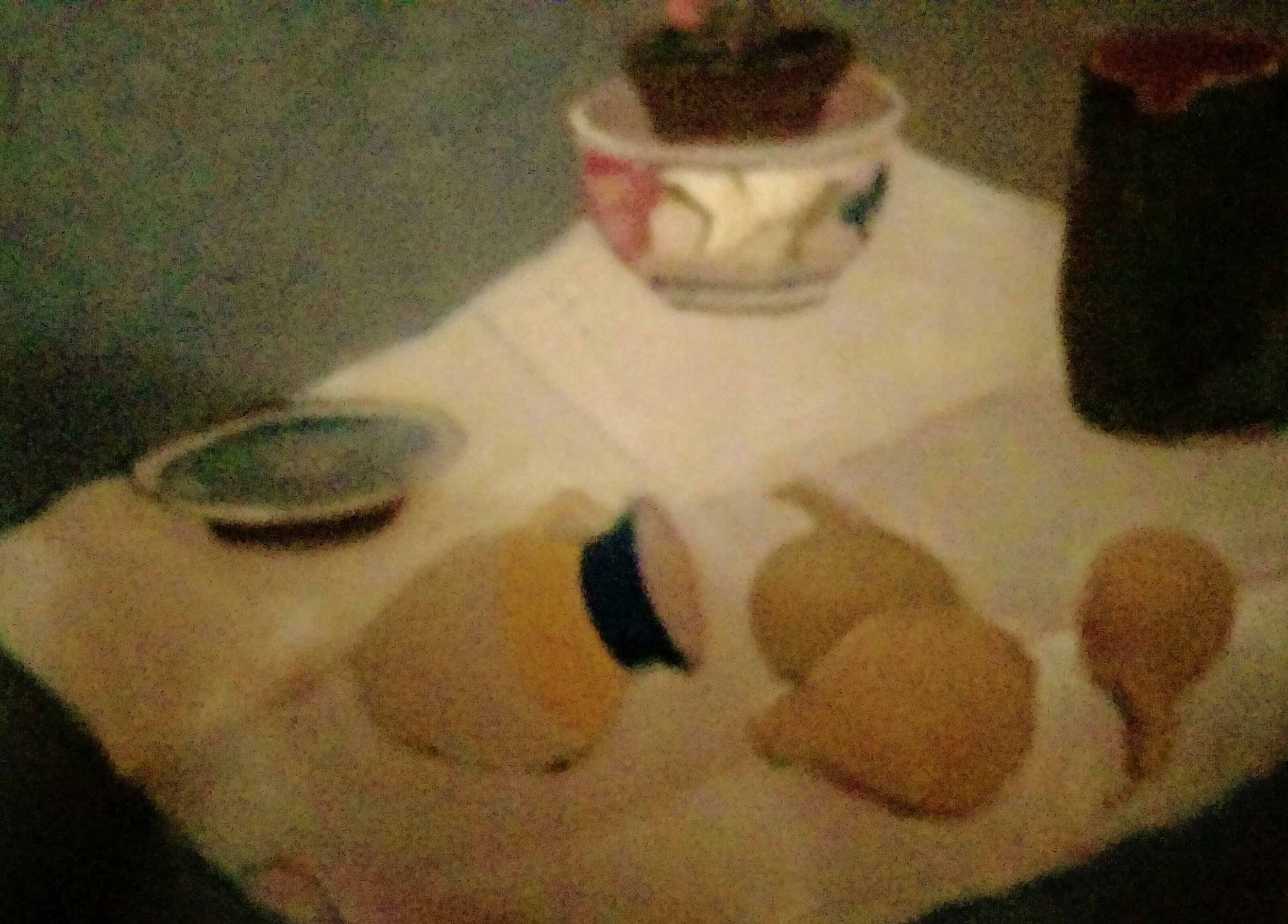 Objects on a cloth