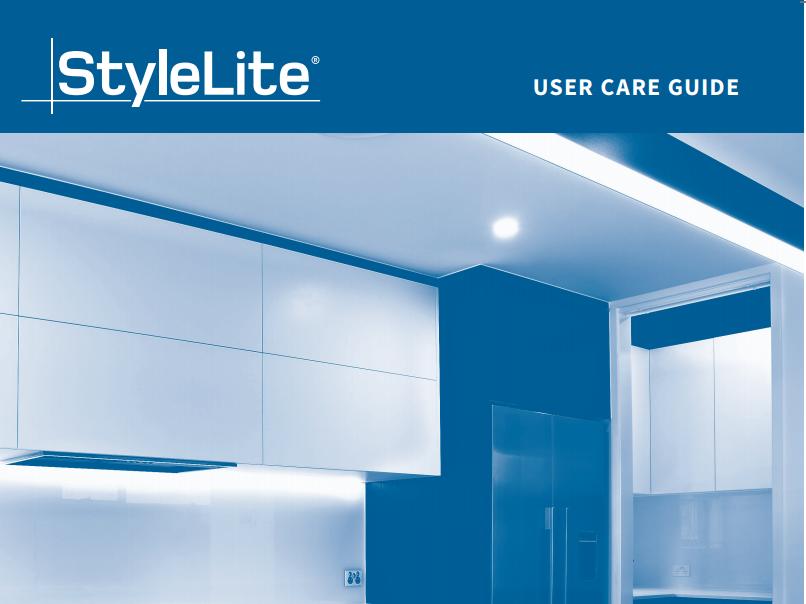 StyleLite User Care Guide