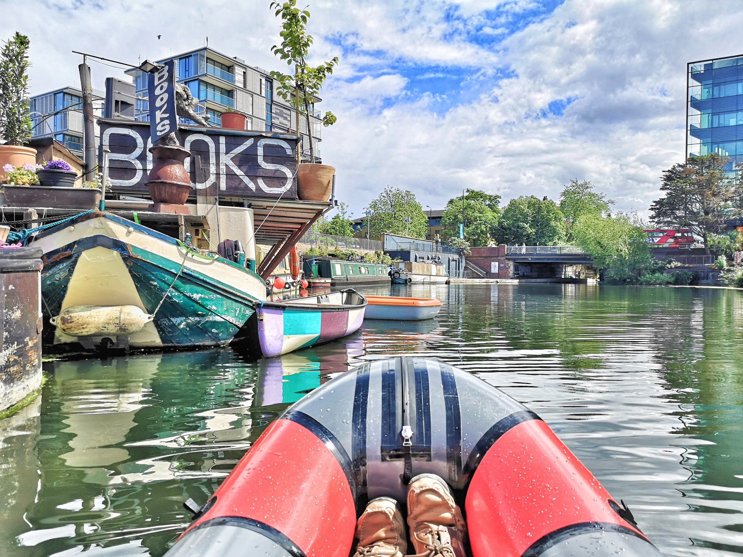 Passing  Word on the Water , a friendly and popular floating bookstore.