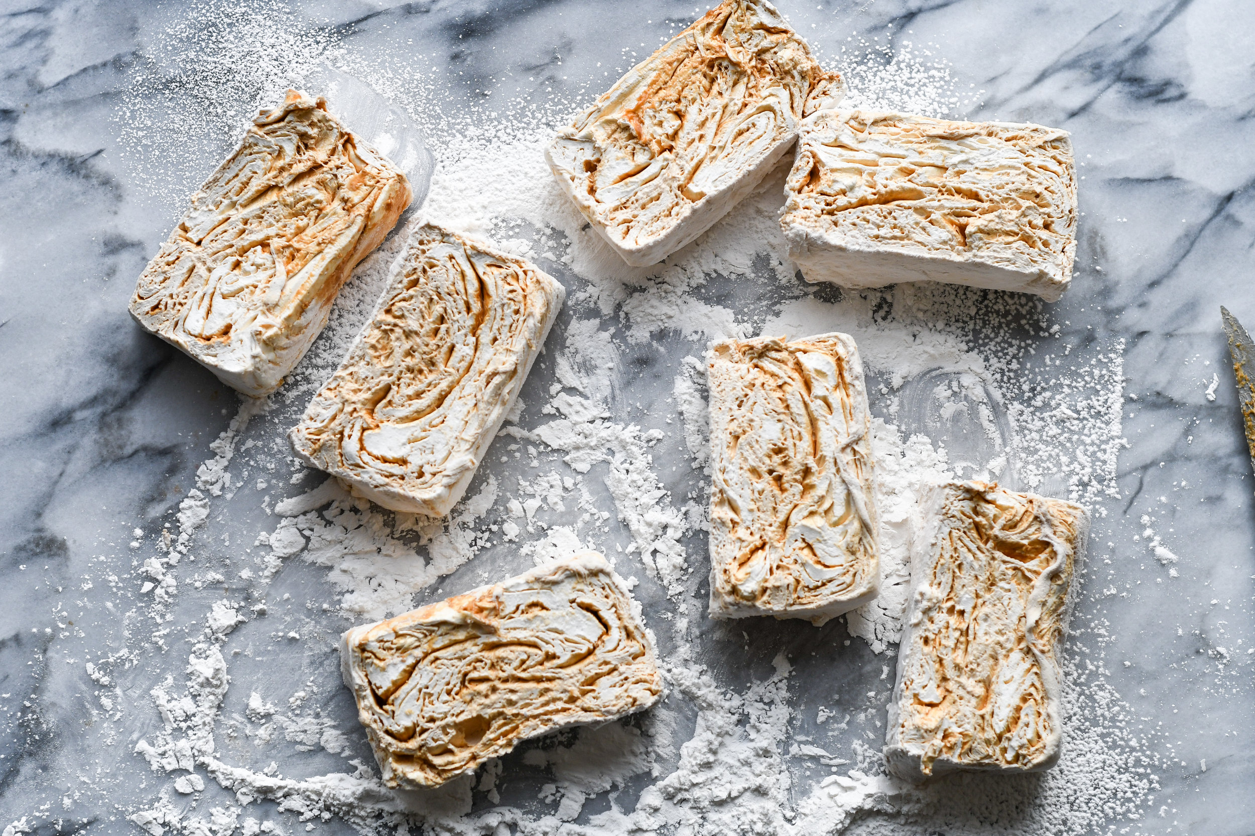 pb swirl marshmallows