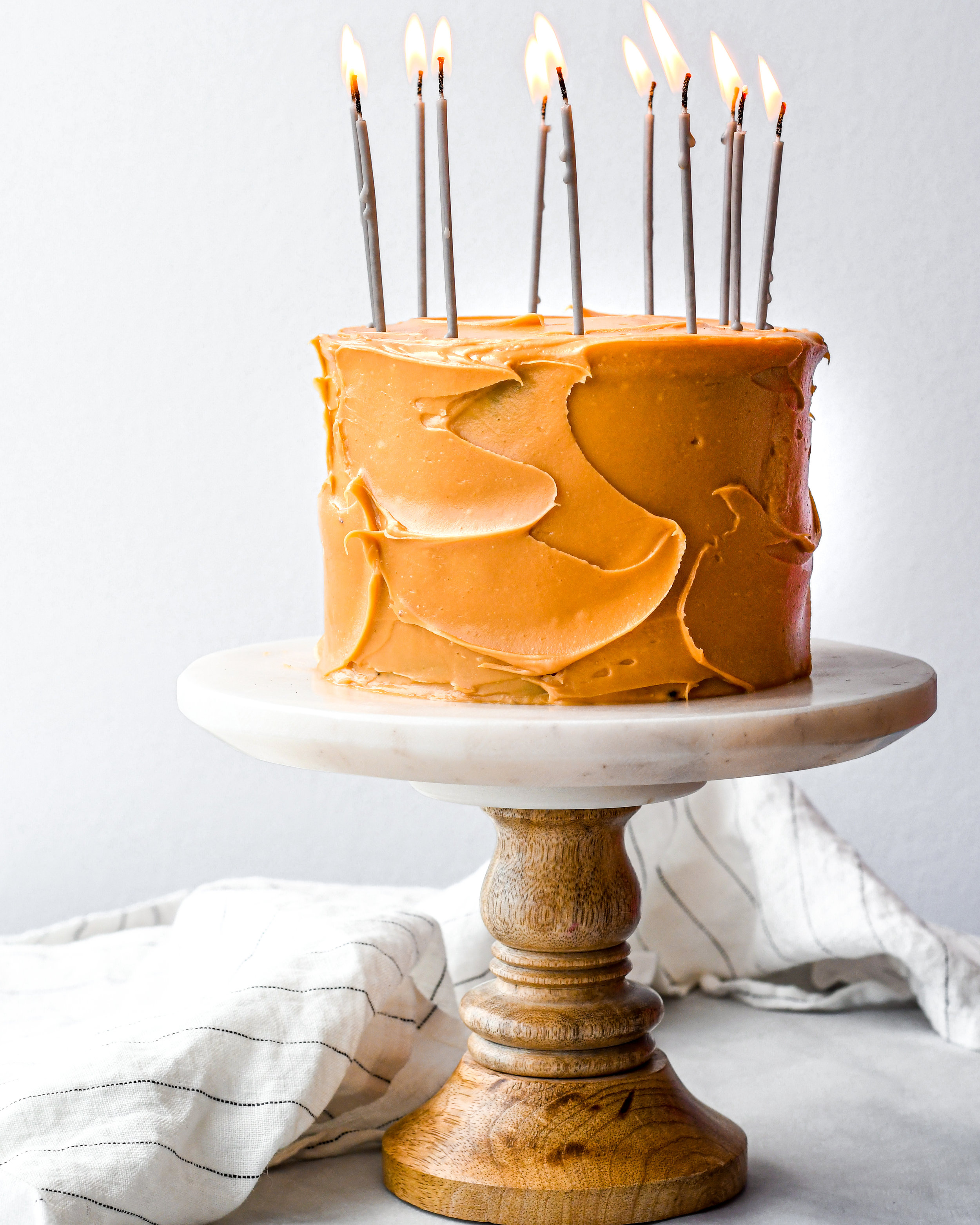 caramelized white chocolate buttercream