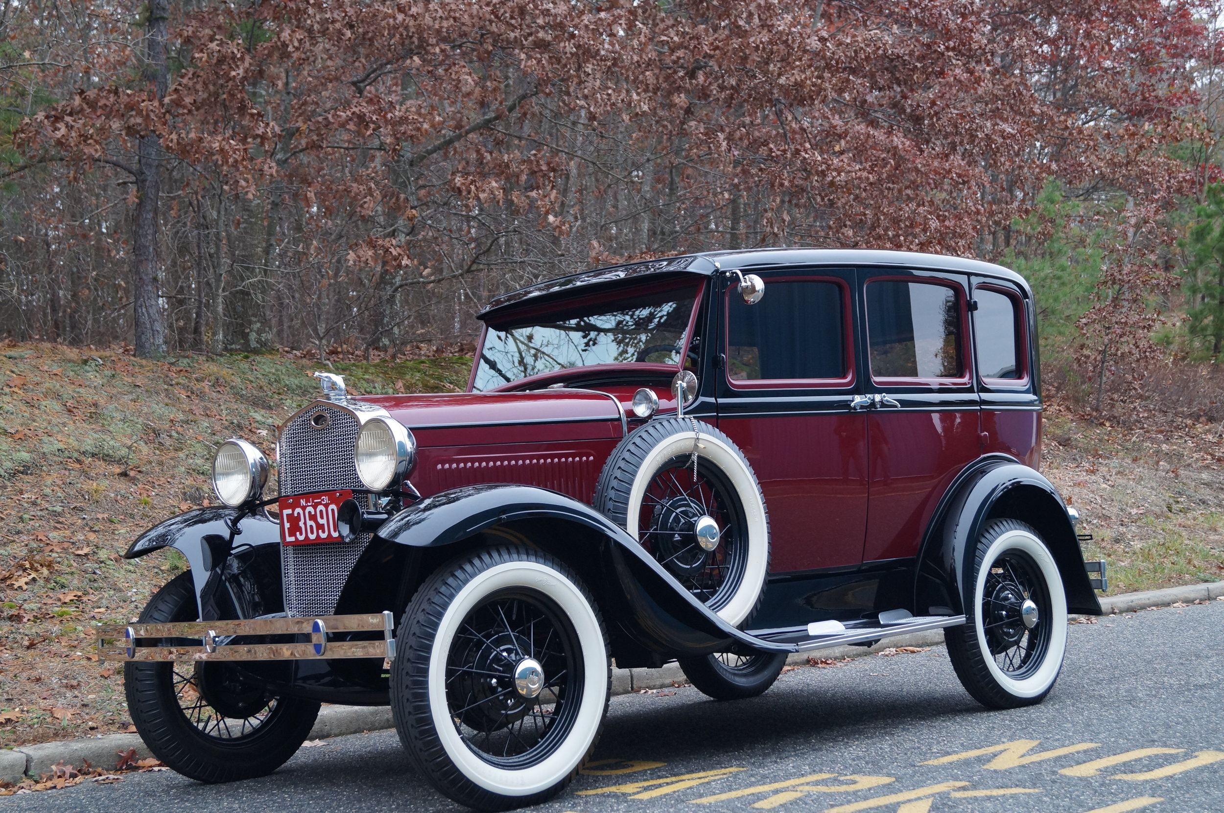 1931 Ford Model A - If you click below to see the additional pictures, you'll see one that features the gas cap which has been engraved with