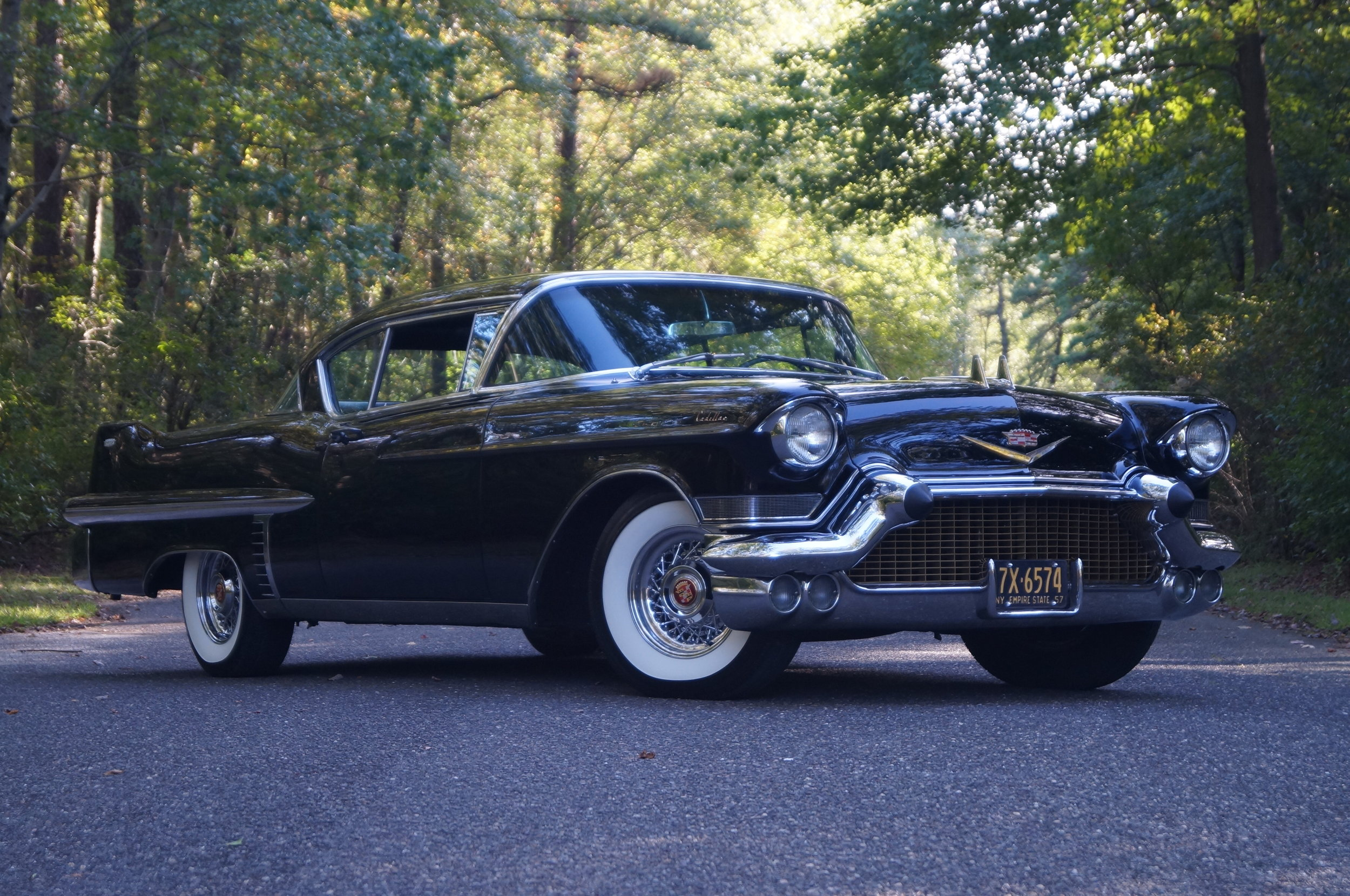 1957 Cadillac Coupe deVille - Johnny Cash famously sang about Cadillacs stating,