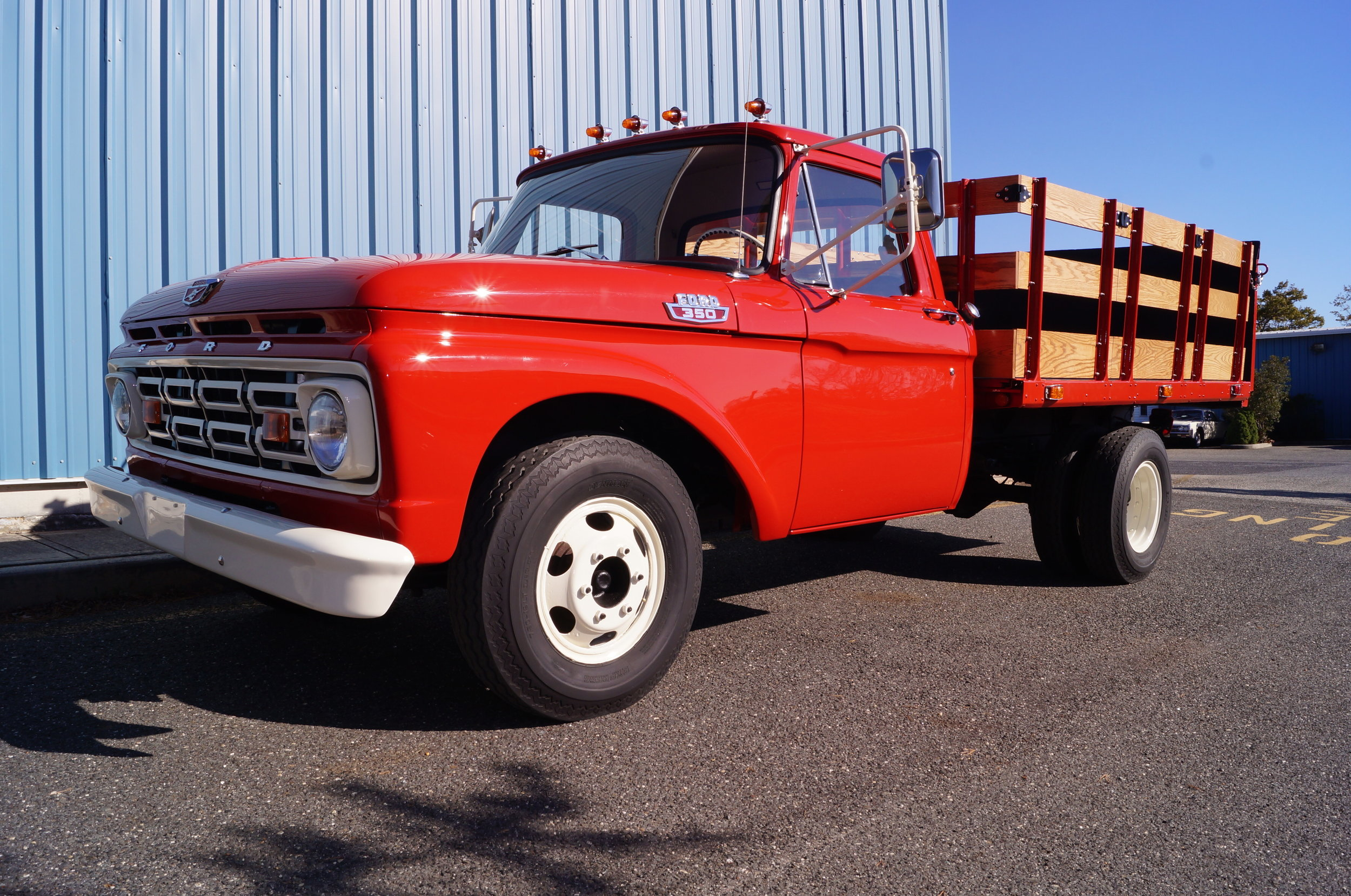 1964 Ford F350 - Not dad's ol' farm truck anymore! Sometimes when we lose a loved one, the best way to honor and memorialize them is through something that makes us feel connected to them still. This restoration is a son's loving tribute to his father, and we were honored to be able to resurrect this ol' truck to a better-than-new condition. While we hope that there are many new memories to be made, we also hope that its hauling hay days are over. No more chores on the farm for this former workhorse. It's time to enjoy a pampered retirement!