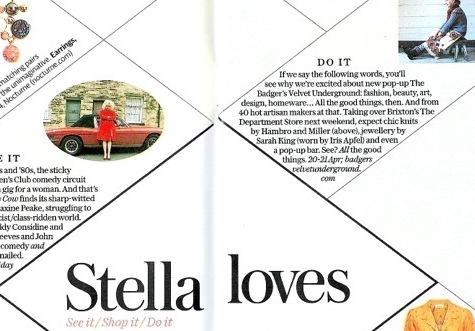 Telegraph Stella Magazine April 15th