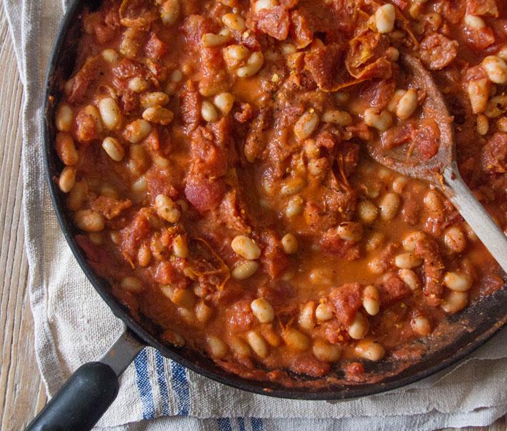Deliciously Ella's Cannellini bean stew