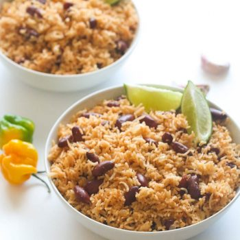 Caribbean Rice and Red Kidney Beans