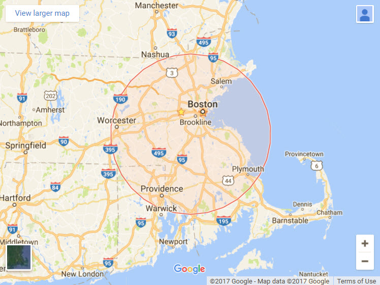 Areas we serve - Homestead Disposal Inc provides 10 & 15 yard roll off dumpster rental services for most towns in Eastern Massachusetts including Greater Boston, Metrowest and South Shore.