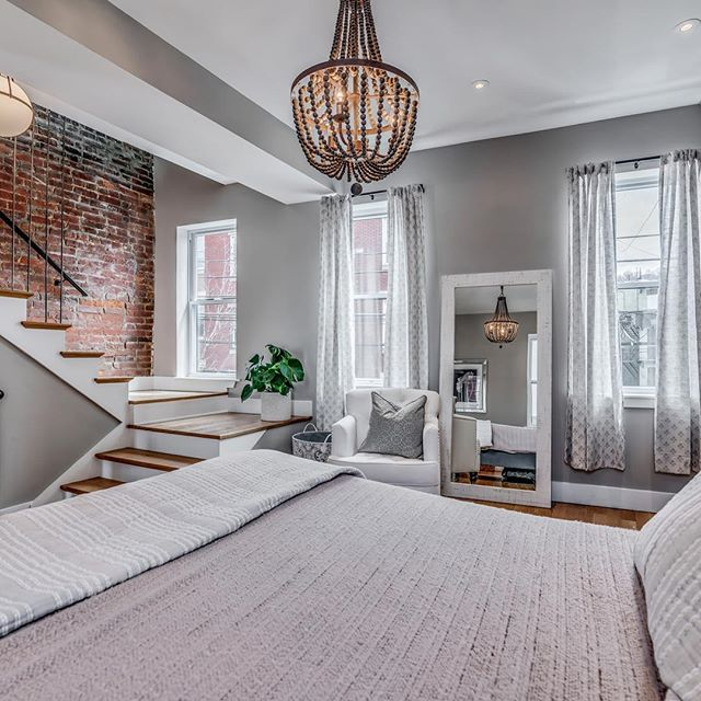 Lawrenceville Row-house built in 1890 @morganashleyinteriors