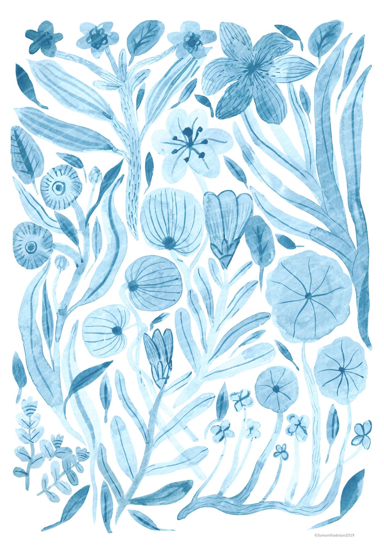 Swept Away Wildflowers