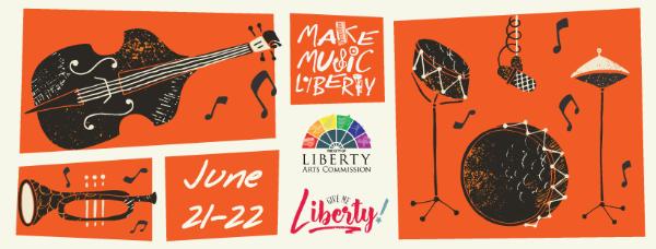 Join us at Make Music Liberty 2019
