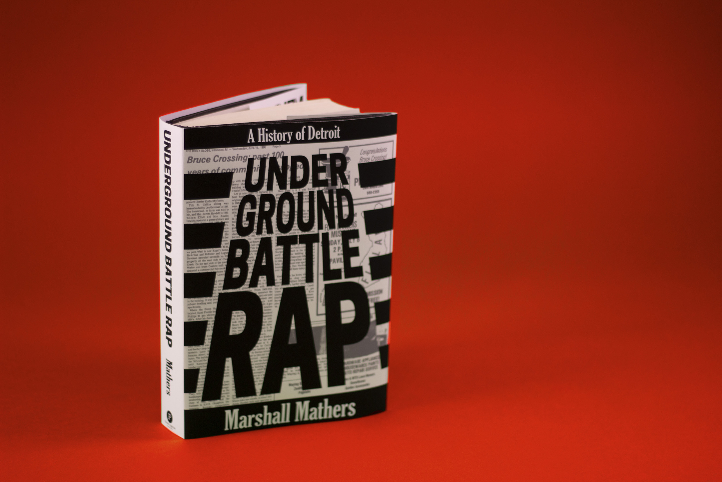 promotional book - Released in conjunction with his comeback tour,Underground Battle Rapis a history of the underground battle rap scene in Detroit where Eminem initially made his name.