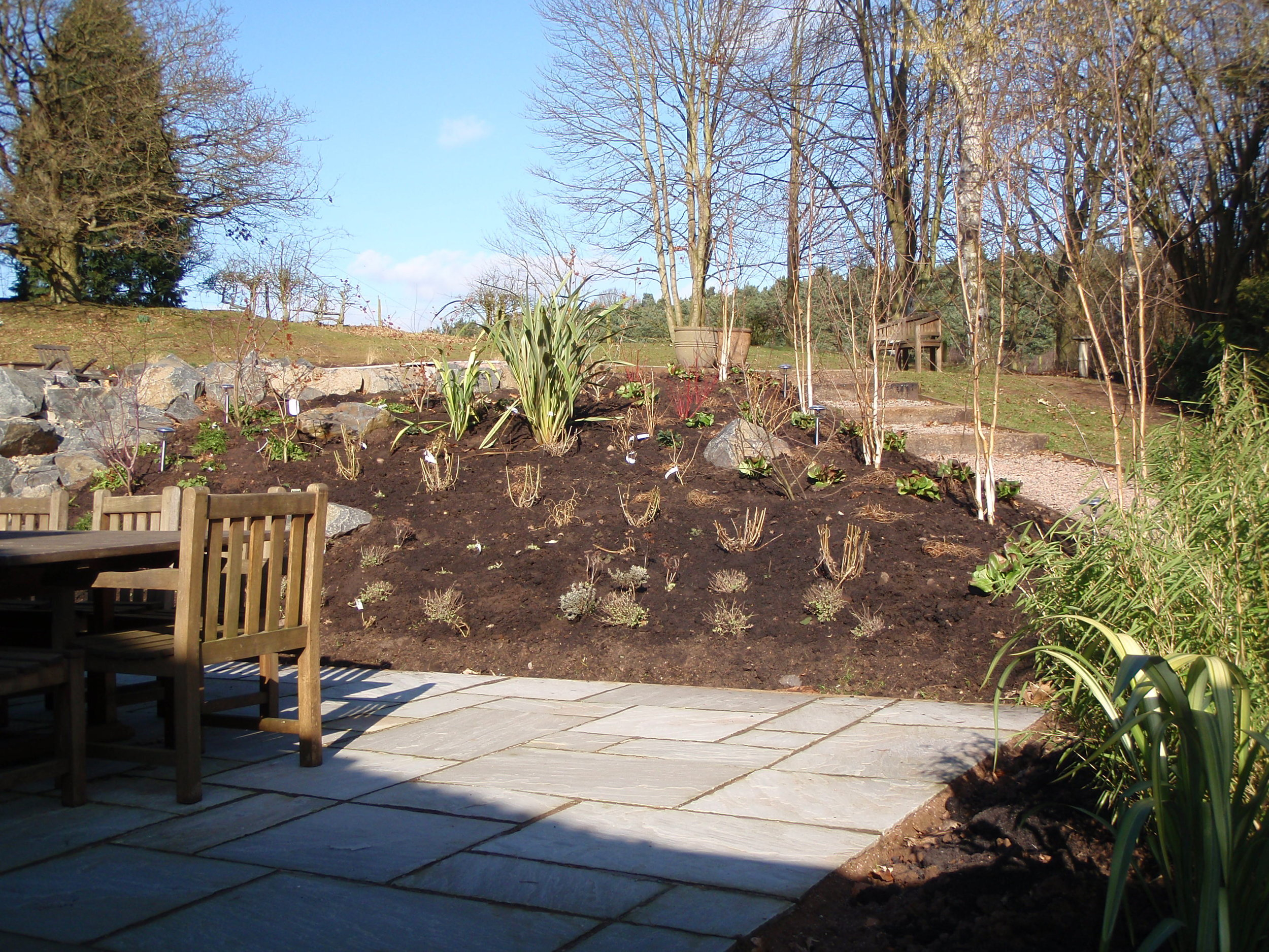 Garden planting - Kinver, West Midlands