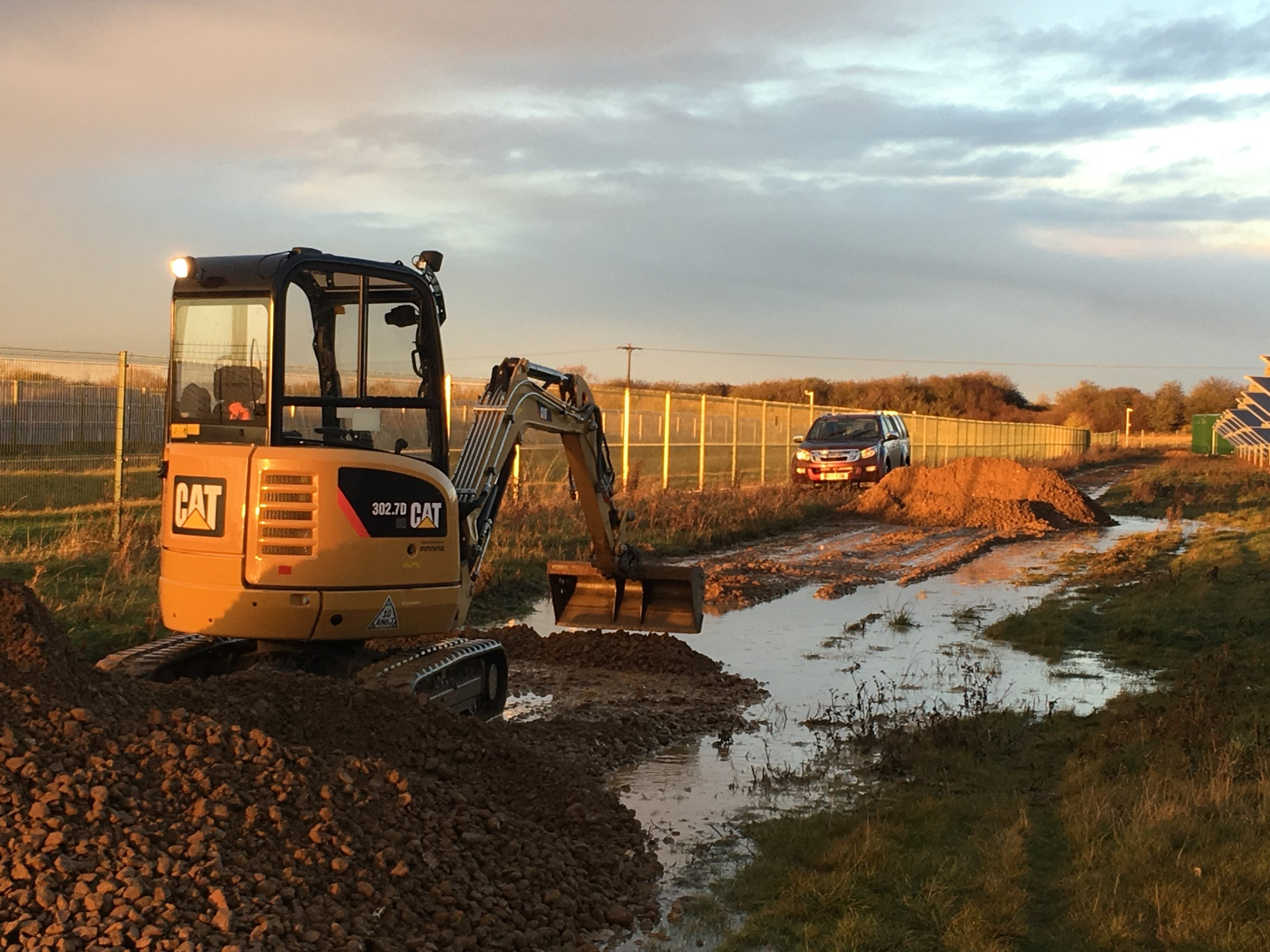 Groundworks & Construction   Evenfield Landscapes & Groundworks
