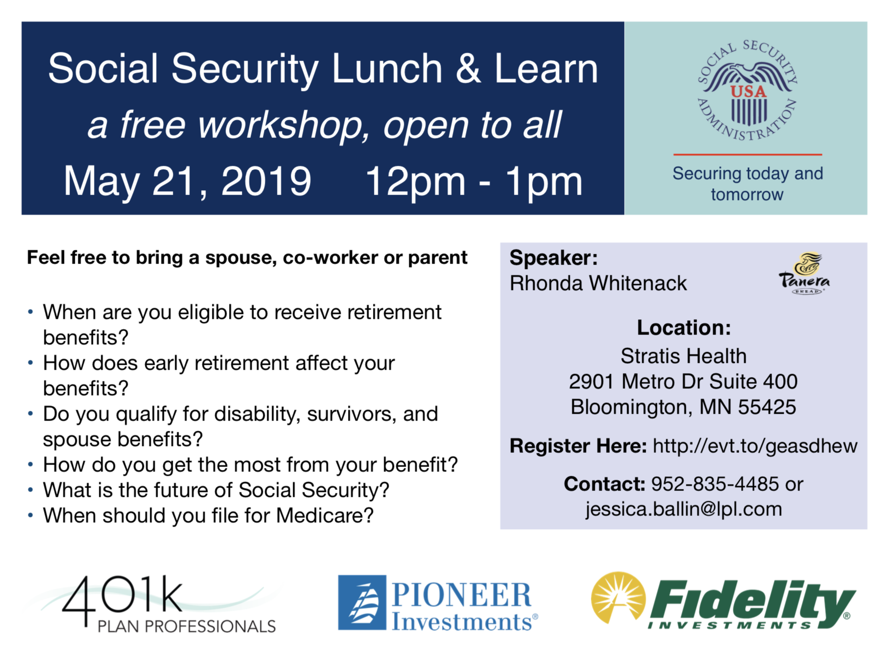 401k Plan Professionals Social Security Administration Event 2019 Client Education.png