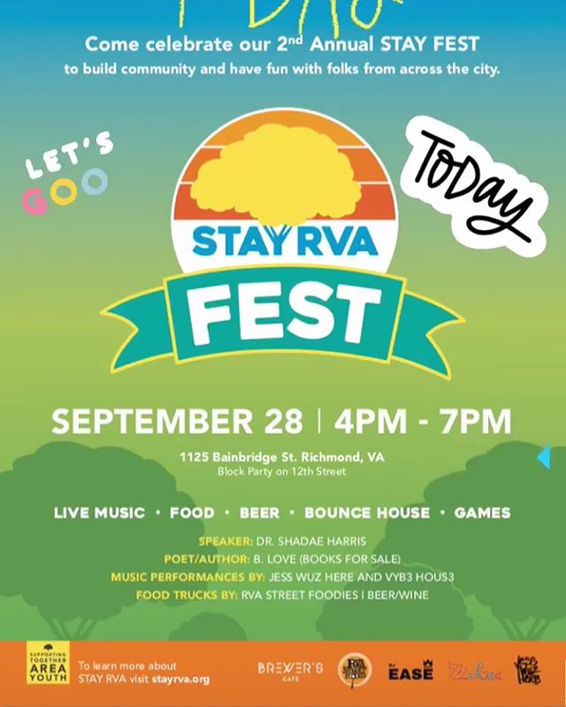 We will be there!! Come get the Scoop on @stay_rva with us!!