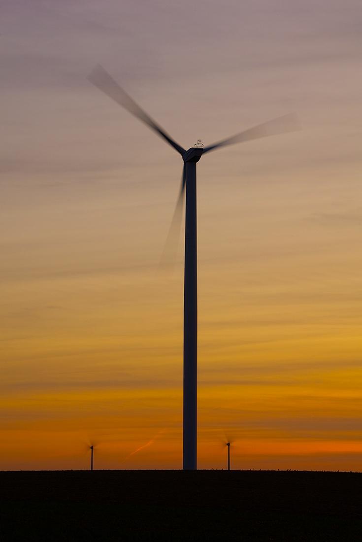 Aerospace Engineers design windmill blades...