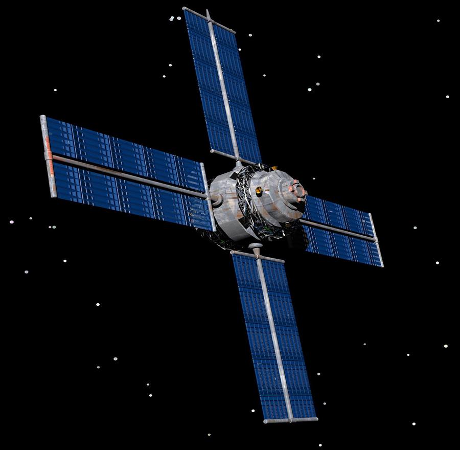 Create a satellite.