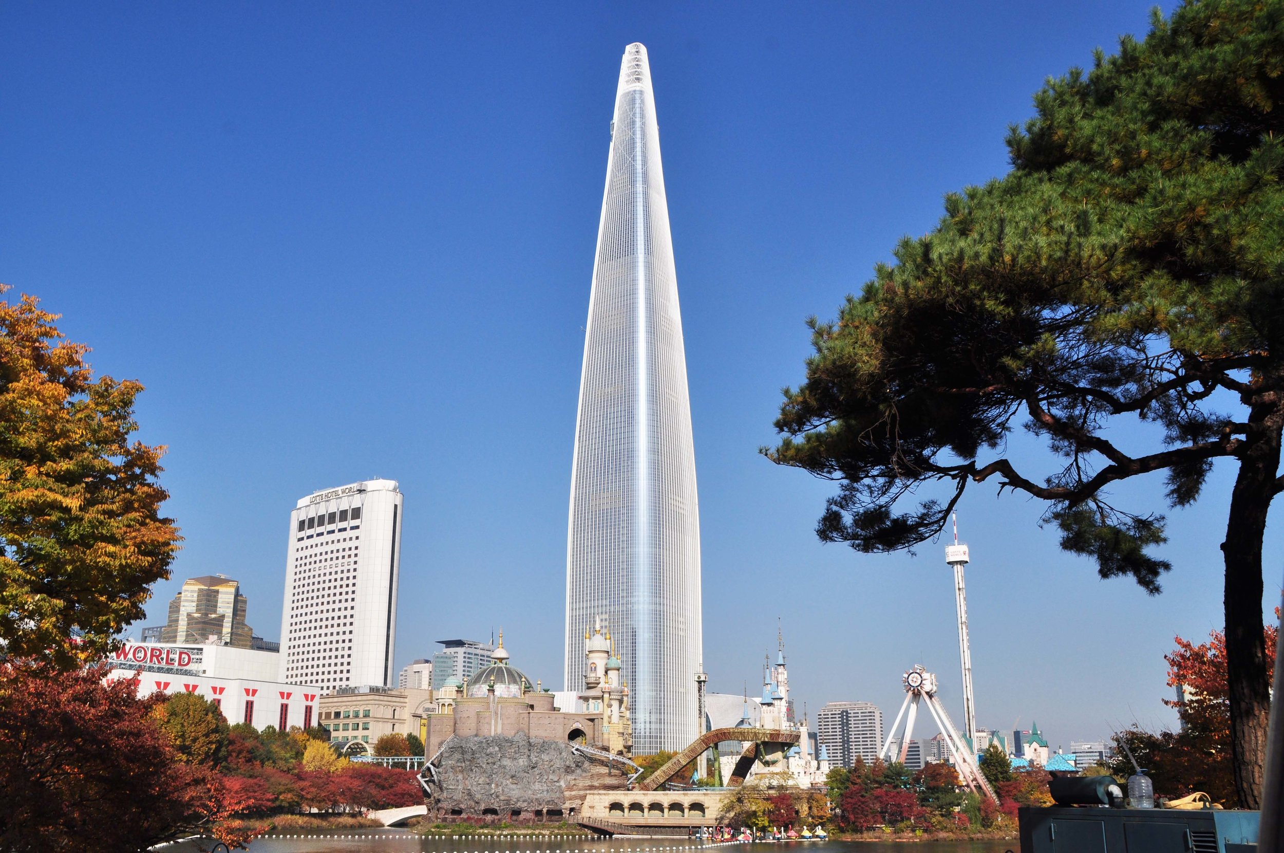 The Lotte World Tower, the 5th tallest building in the world, couldn't be designed and built without structural engineers.