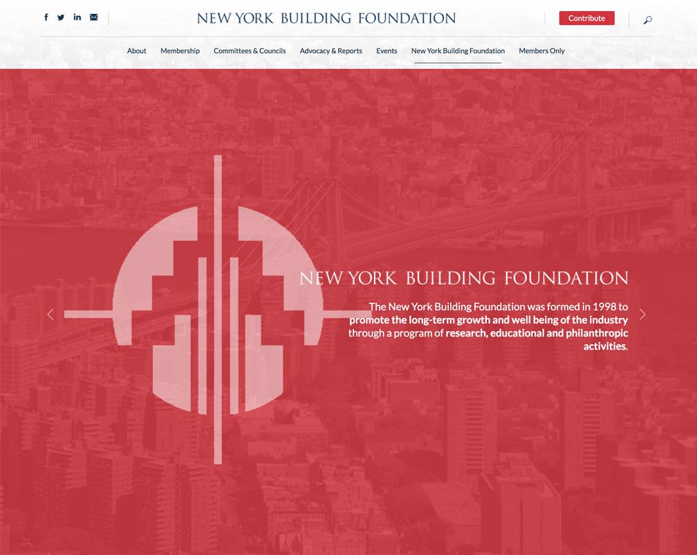 New York Building Foundation - www.buildingcongress.com/new-york-building-foundation