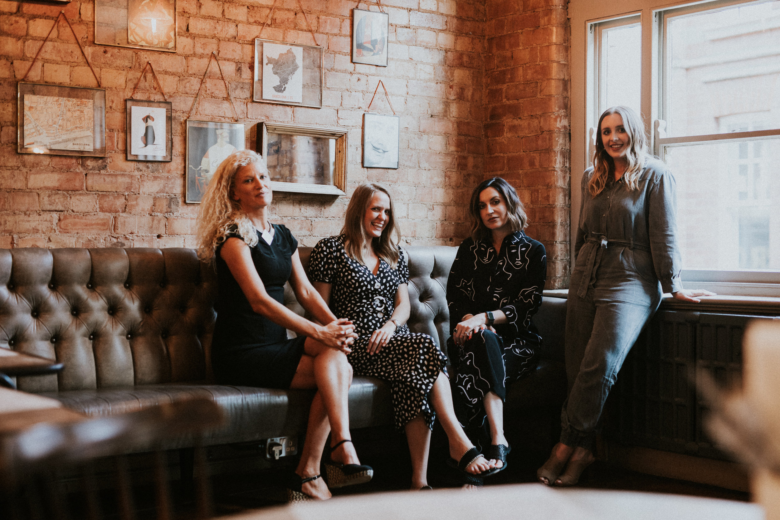 From left: Philippa Charrier (Fat Properties), Sarah Hodge (Maygreen Investments), Jade Bailey (Beespace) and Bekki Stovell (Steele & Stovell)