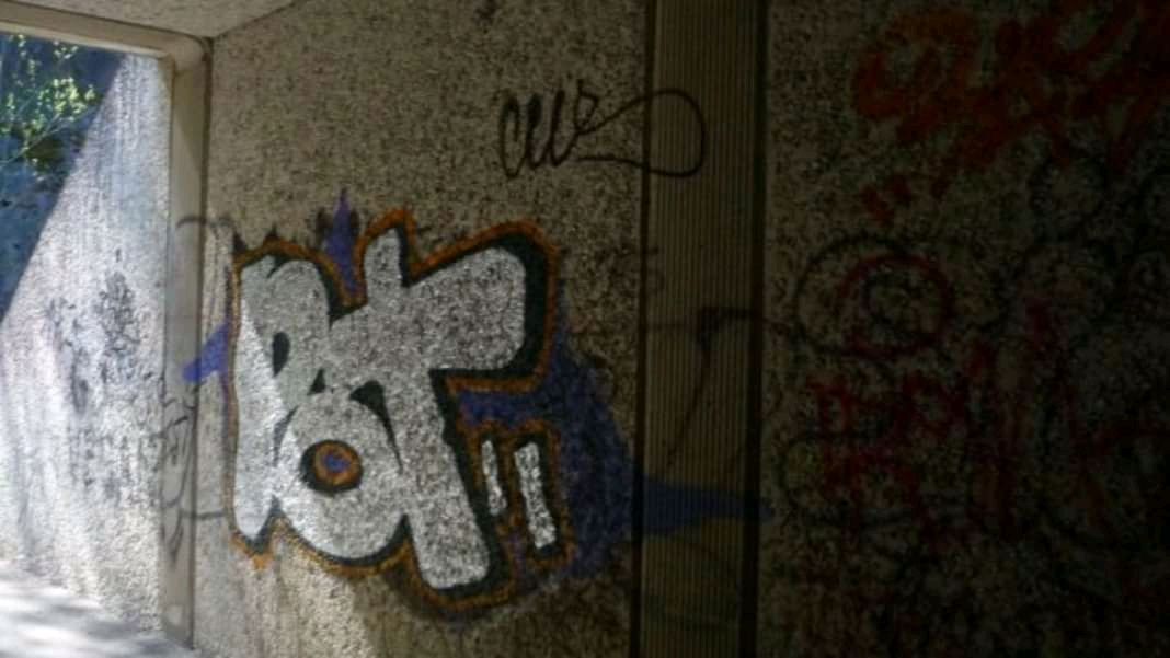 Remembering a graffiti I had seen earlier while walking with Sanna, that's when I asked if the Finnish smoke pot.