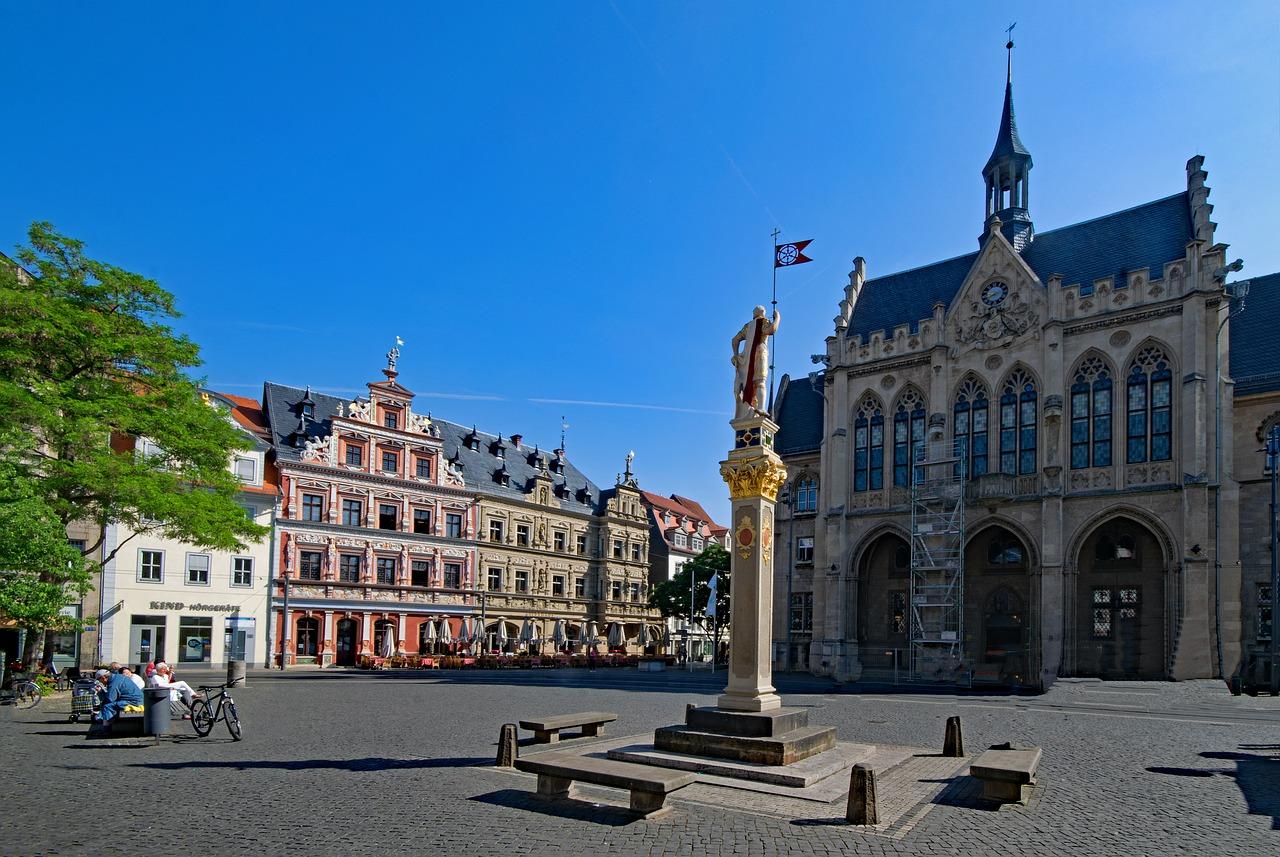 SHOPPING UND KULTUR IN Erfurt -