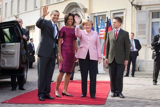 Barack Obama in Baden Baden, 2003