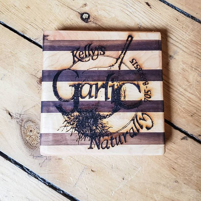Laser Engraved 6x6 cheese board.  #woodworking #laserengraving #cnc #stratfordontario #stmarysontario