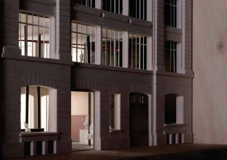 A model of Lafayette Anticipations, which opens to the public in Paris this weekend. Courtesy Fondation Galeries Lafayatte.