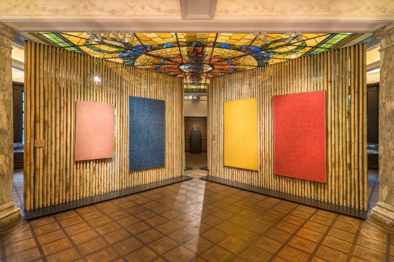 "Installation view of ""Roma 1950-1965"" at Rong Zhai, Shanghai. PHOTO: Alessandro Wang. Courtesy Fondazione Prada."
