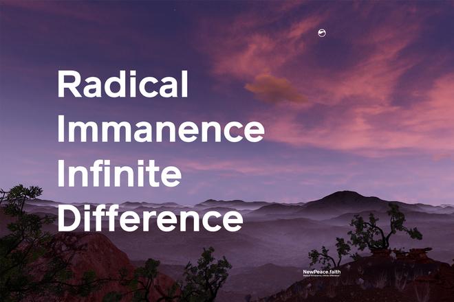 An advertising graphic from Timur Si-Qin's New Peace protocol. Courtesy  the artist, Société , an d  NewPeace.faith .