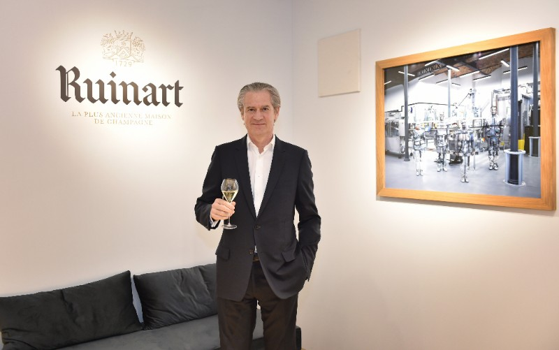 Photo:  Frédéric Dufour, President of Ruinart.