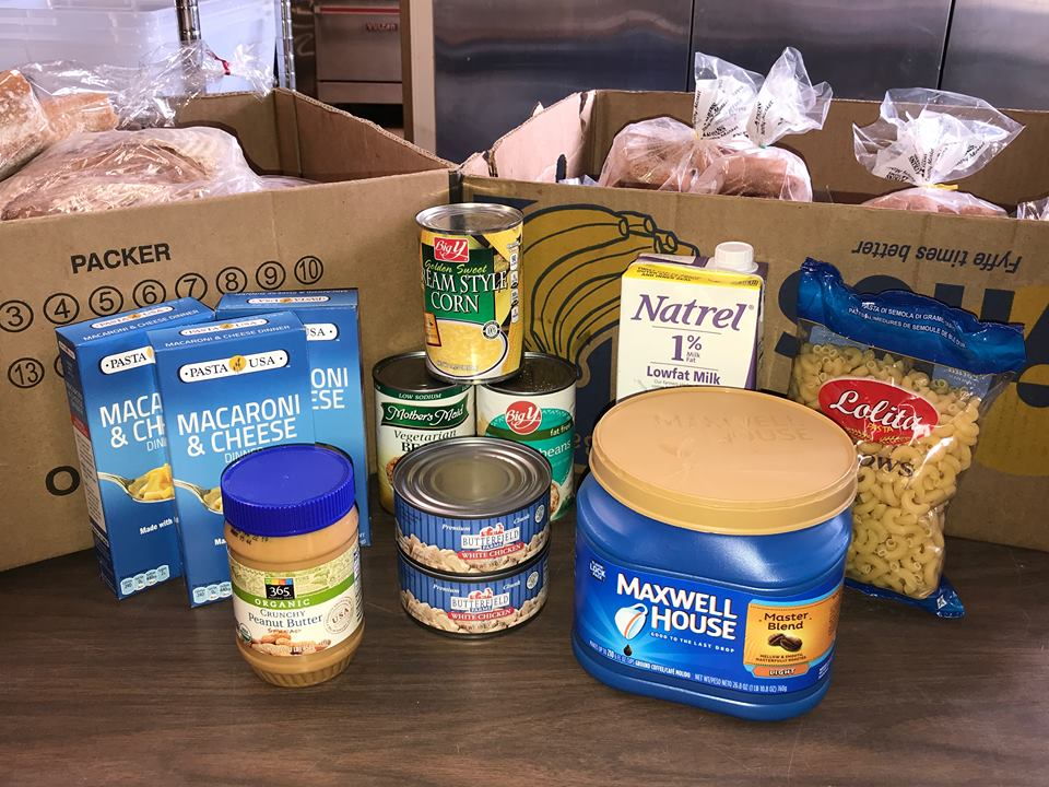 Food - We are a ServSafe establishment, and cannot accept anything that was not prepared in a ServSafe environment (as much as we would love to, we unfortunately can't take your home-made cookies), but we welcome donations from eating establishments, pre-packaged foods, store bought goods, and fresh produce. Our biggest food expense is coffee, and we are frequently in short supply.