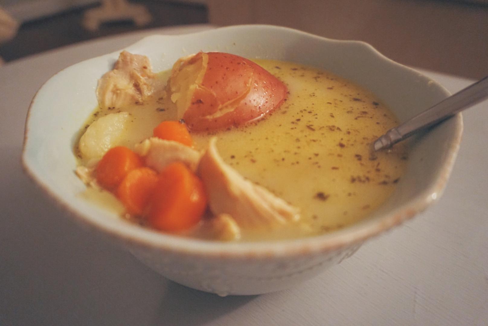 Creamy Chicken Soup   Paleo & Whole 30