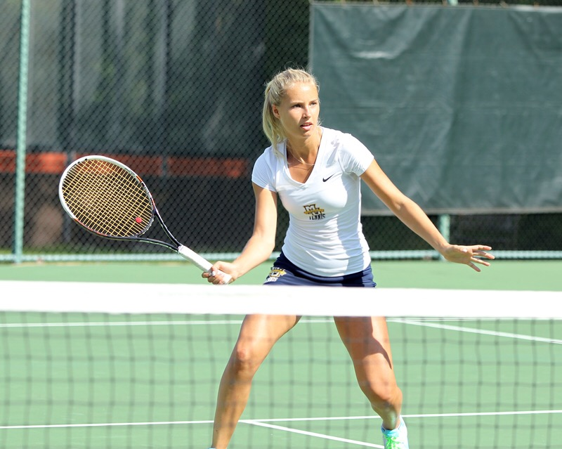 Diana Tokar - From Kiev, UkraineWon the Ukranian championships for both singles and doubles.Ranked top 200 in ITFPlayed #2 singles for Marquette Univ. (Team Captain)Won conference Championship.